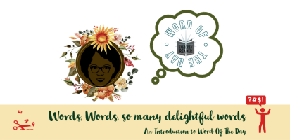 Word of the Day Book Banner